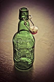 Vintage Grolsch Lager Beer Bottle