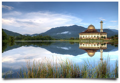 Jumu'ah Mubarokah | HDR (AnNamir c[_]) Tags: reflection photoshop landscape nikon islam mosque serenity malaysia handheld getty tamron hdr masjid gi gettyimages mesjid 17mm photomatix tonemapping 5exposures tenang huluselangor d300s annamir hdrworldmalaysia annamir2u mygearandme ustazannamir vigilantphotographersunite