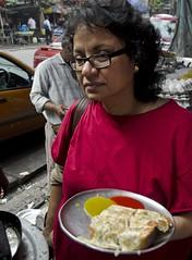 Dodo and Egg Toast - D7K 4798 ep (Eric.Parker) Tags: india dodo streetfood kolkata bengal calcutta 2012 westbengal eggtoast