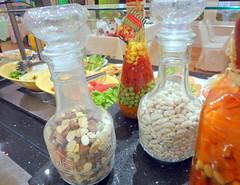 Salad Display (Seteen Palace Hotel) Tags: old food man fruits carpet desert kingdom indoor arabic arab barbecue saudi arabia toyota arabian bedouin ksa badu bedu saudiarabien   arabie saudita suudi  arabistan lafforgue     saoudite  saoediarabi    saudyjska
