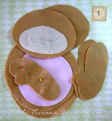 Kit Recorte Prendedor de Cortinas (Artes di Viviane Garcia) Tags: bear felt feltro rosas urso ursinho moldes recortes apostila façavocêmesmo kitfeltro moldefeltro recortedefeltro