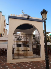 Templete plaza de Damasco P7262425 (Rafael Jimnez) Tags: sculpture espaa art spain arte escultura granada syria almucar siria 2013 aboutiberia almucargranada esculturasiriaenalmucar