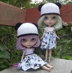 Aurora and Nimue