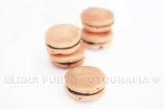 Macarons (Elenita_) Tags: france dessert sweet chocolate sugar homemade almonds macaroons macarons