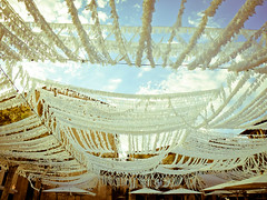 Pretty (chrissiehannah) Tags: sky pretty decoration canopy mallorca majorca lightroom pollenca