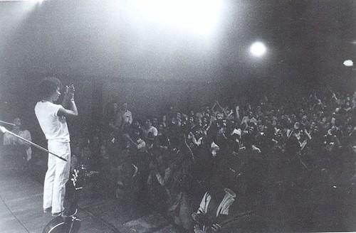 """Show do disco """"Alumbramento"""" no Teatro Ipanema, por Livio Campos 1980"""