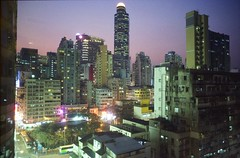 Mong Kok, Hong Kong (Aadi Salman) Tags: hongkong kodak 28mm olympus zuiko om1 olympusom1 f35 gold200