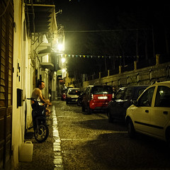 Chill out, take it easy (motocchio) Tags: street summer people italy italia sicily everydaylife sicilia cefalu