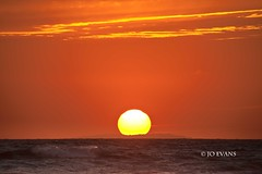 Memories of summer gone - Explore 12.9.13 - Thanks! (Jo Evans1 - off and on for a while) Tags: sunset sea sky clouds golden waves llangennith