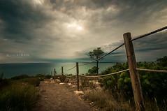 Path (dandanielvasile) Tags: madrid morning green nature dark de landscape photography la spain nikon purple tokina ii 28 116 castellon plana d3200 megashot