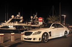 Money, power, fame. (Sir_Georgino) Tags: white money mercedes spain ibiza yachts luxury brabus sirgeorgino