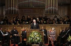 Governor Bentley Visits 16th Street Baptist Church- Birmingham, Alabama