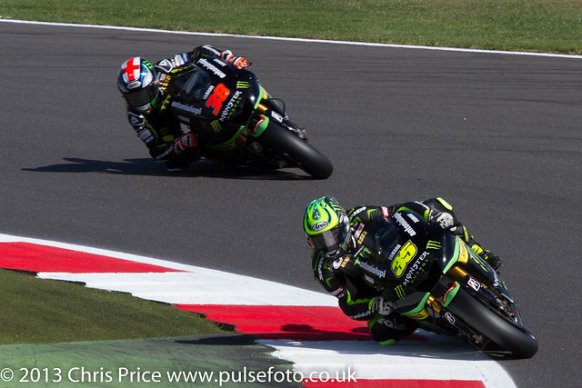 Bradley Smith and Cal Crutchlow the Monster Team