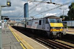 90015 (stavioni) Tags: castle electric locomotive greater colchester stratford anglia dvt 90015 class90 82127 nxea
