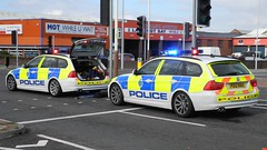 Merseyside Traffic Police (sab89) Tags: blue light traffic crash police birkenhead bmw wirral 999 nau merseyside attending po12 po12nau touiring