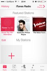 iTunesRadio selectStation