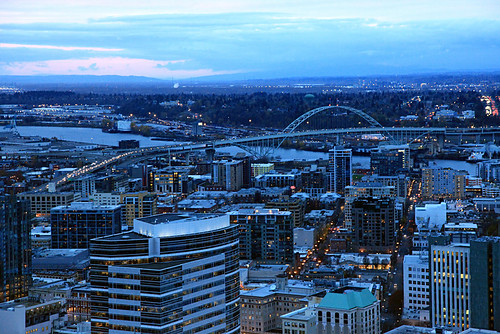 pdx blue hour