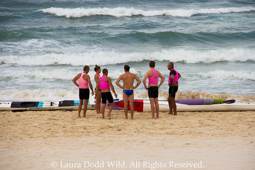 Broadbeach 1: Lifeguards.