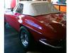 09 Corvette C2 mit weißem PVC Verdeck Robbins CK-Cabrio