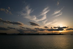 SDIM5150 (Keishi Etoh rough-and-ready photoglaph) Tags: sigma dp1x omuta   miikeport foveon sunset sigmadp1x dp1 28mm