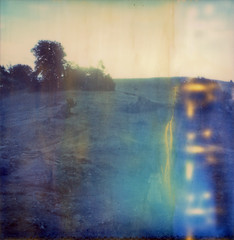 (theonlymagicleftisart) Tags: polaroid sx70 expired fable josephcampbell monomyth impossibleproject
