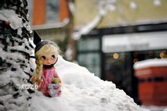 These Winter Days... (rockymountainroz) Tags: snow vintage kenner blythe 1972 sandradee squeakymonkey vainilladollycustom downtownbouldercolorado nixipixipuddingpie mohairrerootbyhong ridell66 louisamayalcottbear
