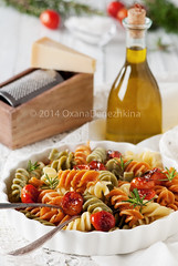 Italian colored pasta (Oxana Denezhkina) Tags: red italy food color green cooking yellow closeup dinner menu fun lunch cuisine restaurant healthy italian funny colorful mediterranean raw symbol background wheat dry nobody pasta meal tricolor colored spaghetti multicolored culinary macaroni ingredient uncooked fusilli
