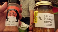 Dry Rub and Handy Corn (the queen of subtle) Tags: winter parties 2014 awesomechristmas