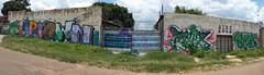 Kliptown X100 Pano (Mr Baggins) Tags: mars streetart graffiti mein soweto x100 kliptown ladyaiko fujifinepixx100