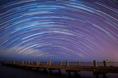 SalinasTrail (Fernie787) Tags: ocean longexposure sea stars noche muelle timelapse dock puertorico niche space trails salinas estrellas caribbean nightsky caribe startrail