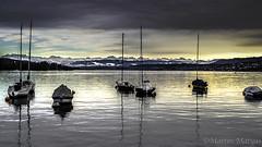 to wait for ...? (Martin.Matyas) Tags: cloud clouds boot schweiz wolke wolken boote zrich schiffe segelboot arosa canonefs1855mm3556kitlens eos7d