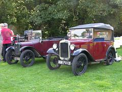 Austin 7 AF Tourer 1932 & Chummy c1928 DSCN0232mods (Andrew Wright2009) Tags: show carnival classic cars 1932 austin suffolk 7 historic seven af rare automobiles lavenham tourer chummy breeds c1928