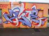 Street art and graffit at The Trackside Studio, Cathays Cardiff (DJLeekee) Tags: road street art graffiti cardiff richmond studios amok cathays trackside spk sepr