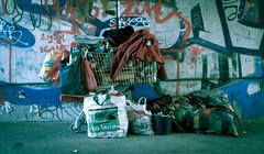 la terre (nasowie) Tags: bridge berlin homeless under brcke obdachlose