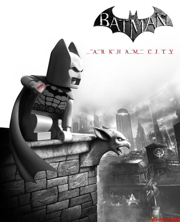 Lego Batman Arkham Knight: The World's Best Photos Of Arkham And Decal