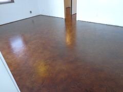 Concrete Staining - Auburn IN (Decorative Concrete Kingdom) Tags: brown texture amber interior indiana auburn venetian urethane staing epoxyflooring concreteresurfacing concretestaining