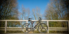 My bike (McQuaide Photography) Tags: urban holland netherlands canon europe nederland powershot lefty hybrid cannondale badboy g15 mcquaidephotography