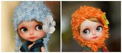 Blythe fuzzy sparkle hat