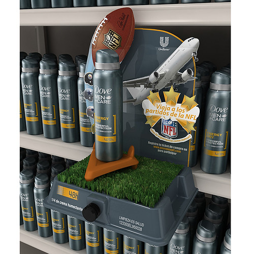 Dove Men NFL Tester By Boomerang