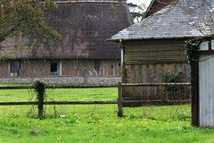 Timber-framing Berthouville (stanzebla) Tags: fachwerkhaus fachwerkhäuser maisonàcolombages maisonàpansdebois berthouville oncewashome timberframingineure