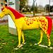 Pferdefigur in Warendorf