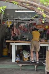 Butcher @ Canning Garden (J2Kfm) Tags: market ipoh pasirputeh canninggarden