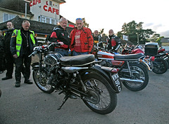 Proud owner of a special BSA (Trev Earl) Tags: canon bikes 5d british bsa towcester classicbike jackshillcafe ilobsterit