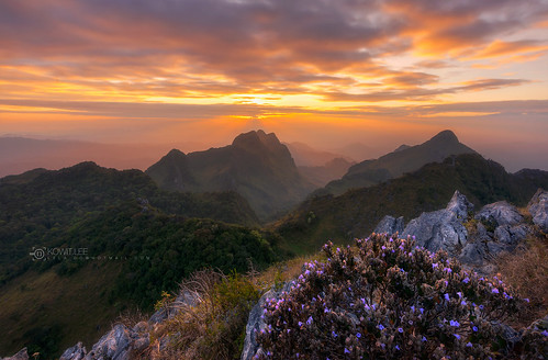 Nature of Light Sunset in Doi Luang Chiang Dao