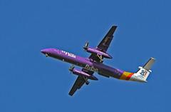 De Havilland DHC-8-402Q Dash 8 (Hawkeye2011) Tags: aircraft aviation airliner dash8 dehavilland 2015 flybe dhc8 rainhammarsh u|k gjedt