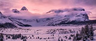 Winter, Quintessentially | Mt. Assiniboine, Canadian Rockies