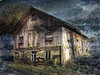 Charming old shed. (Bessula) Tags: old texture sweden country shed creative ruin creation dilapidation relic bessula coth5