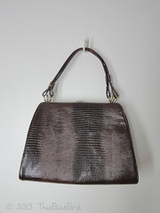 Vintage Handbag Purse (thisbluebird) Tags: purse handbag vintagehandbag framebag vintagepurse kellybag vintageclothesthisbluebird