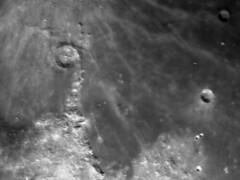 Eratosthenes + Timocharis + Appenine mountains. (Dave Lillis) Tags: irishastronomy shannonsideac