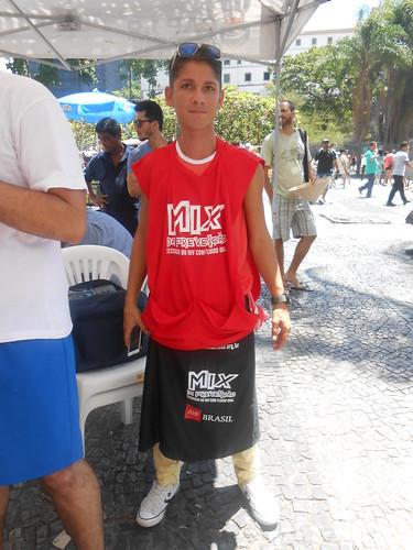 International Condom Day 2014: Brazil